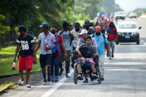 Mexico Restricts the Passage of the Migrant Caravan